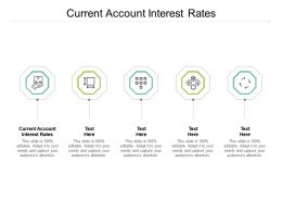Current Account Interest Rates Ppt Powerpoint Presentation Gallery Templates Cpb