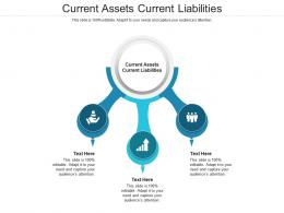 Current Assets Current Liabilities Ppt Powerpoint Presentation Portfolio Examples Cpb