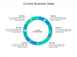 Current Business Ideas Ppt Powerpoint Presentation Portfolio Objects Cpb