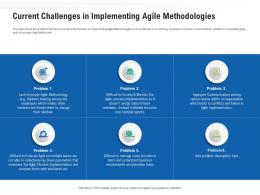 Current Challenges In Implementing Agile Methodologies Ppt Demonstration