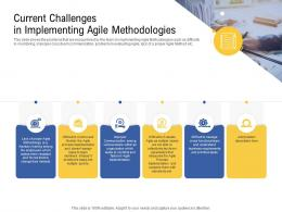 Current Challenges In Implementing Agile Methodologies Requirements Ppt Icon