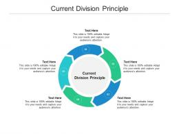 Current Division Principle Ppt Powerpoint Presentation Show Designs Download Cpb