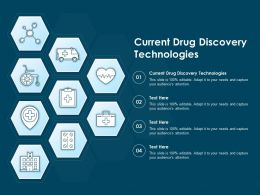 Current Drug Discovery Technologies Ppt Powerpoint Presentation Professional File