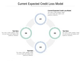 Current Expected Credit Loss Model Ppt Powerpoint Presentation Infographics Templates Cpb