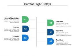 Current Flight Delays Ppt Powerpoint Presentation Layouts Slideshow Cpb