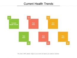 Current Health Trends Ppt Powerpoint Presentation Inspiration Icon Cpb