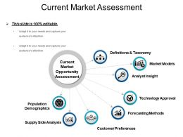 Current Market Assessment Presentation Slides