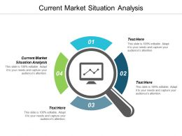 Current Market Situation Analysis Ppt Powerpoint Presentation Gallery Graphics Tutorials Cpb
