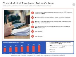 Current Market Trends And Future Outlook Millennials Powerpoint Presentation Elements