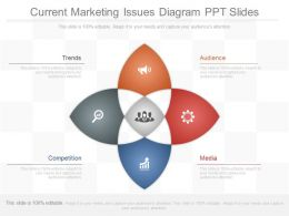 Current Marketing Issues Diagram Ppt Slides