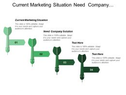 Current Marketing Situation Need Company Solution Market Segmentation