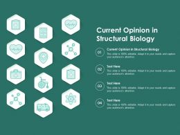 Current Opinion In Structural Biology Ppt Powerpoint Presentation Infographics Graphics