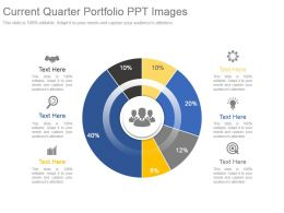 Current Quarter Portfolio Ppt Images
