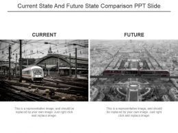 Current State And Future State Comparison Ppt Slide