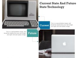 Current State And Future State Technology Powerpoint Slide Backgrounds