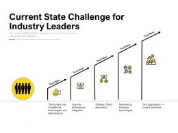 Current State Challenge For Industry Leaders