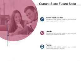Current State Future State Ppt Powerpoint Presentation Slides Outline Cpb