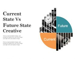 Current State Vs Future State Creative Ppt Slide