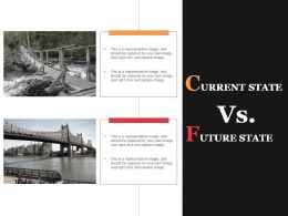 Current State Vs Future State Powerpoint Slide Designs