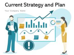 Current Strategy And Plan Business Growth Goals Marketing Product Education
