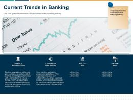 Current Trends In Banking Ppt Powerpoint Presentation Inspiration Smartart