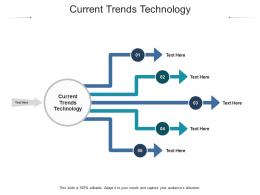 Current Trends Technology Ppt Powerpoint Presentation Images Cpb