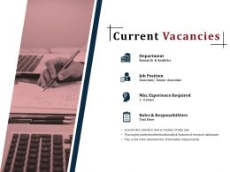 Current Vacancies Powerpoint Slide Design Templates
