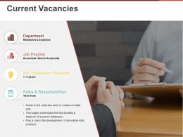 Current Vacancies Powerpoint Slide Themes