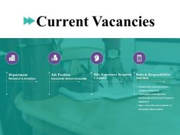 Current Vacancies Ppt File Shapes