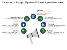 Current Work Strategic Alignment Dividend Appreciation Index Fund