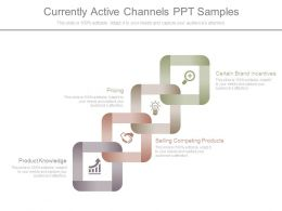 Currently Active Channels Ppt Samples