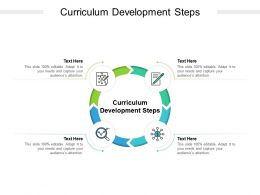 Curriculum Development Steps Ppt Powerpoint Presentation Ideas Show Cpb