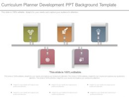 Curriculum Planner Development Ppt Background Template