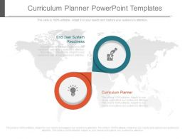 Curriculum Planner Powerpoint Templates