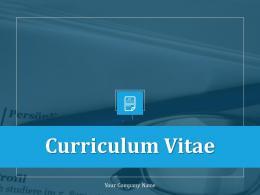Curriculum Vitae Powerpoint Presentation Slides
