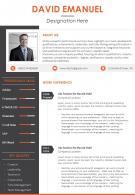 Curriculum Vitae Sample With Professional Skills And Key Qualities