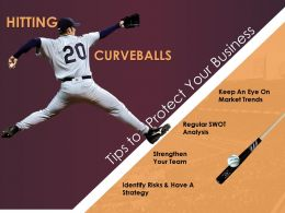 Curveballs in Business And Baseball Solving Challenges Business Risks