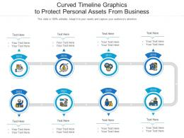 Curved Timeline Graphics To Protect Personal Assets From Business Infographic Template