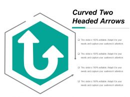 Curved Two Headed Arrows