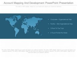 Custom Account Mapping And Development Powerpoint Presentation