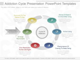 Custom Addiction Cycle Presentation Powerpoint Templates