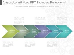 Custom Aggressive Initiatives Ppt Examples Professional