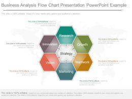 custom_business_analysis_flow_chart_presentation_powerpoint_example_Slide01