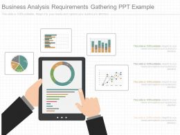 Custom Business Analysis Requirements Gathering Ppt Example