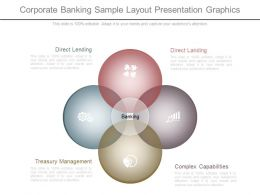 Custom Corporate Banking Sample Layout Presentation Graphics