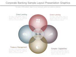 Custom Corporate Banking Sample Layout Presentation Graphics