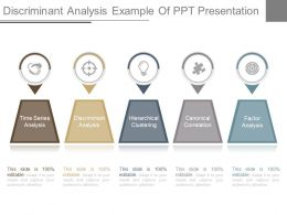 Custom Discriminant Analysis Example Of Ppt Presentation