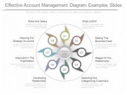 Custom Effective Account Management Diagram Examples Slides