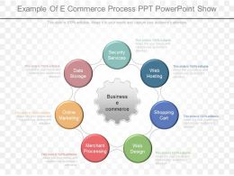 Custom Example Of E Commerce Process Ppt Powerpoint Show