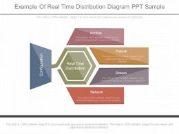 Custom Example Of Real Time Distribution Diagram Ppt Sample